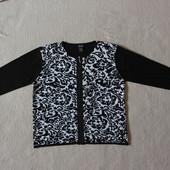 Красивенная нарядная кофта свитер на молнии США