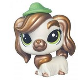 Mossy Courtley Littlest pet shop от Hasbro собака собачка в шляпе шляпке