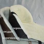 меховые матрасики в санки