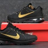 Кроссовки  Nike Flywire  чорні в золоті
