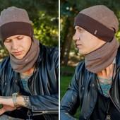 Комплект шапка+баф