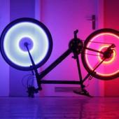 Подсветка велосипеда .креативная подсветка на вело