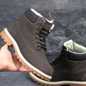 Зимние мужские ботинки Timberland brown