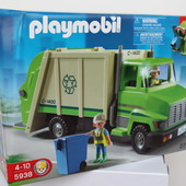 Игровой набор Playmobil Мусоровоз и переработка мусора