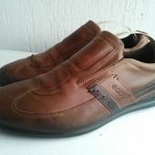 Кожаные туфли Ecco 40 р. Таиланд. Оригинал.