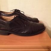 туфли фирменные Clarks кожаные р.43