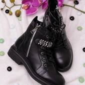 Стильные женские демисезонные ботинки