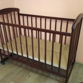 Бронь_Деревянная кроватка для младенцев от 0 до 3-х лет