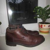 Кожаные деми ботинки Bata 43 р