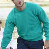 Реглан мужской (с начёсом), выбор цвета, размеры от S до XXL