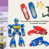 Робот 80829 (12шт) 2 цвета, батар, в кор. 43*13,5*36см