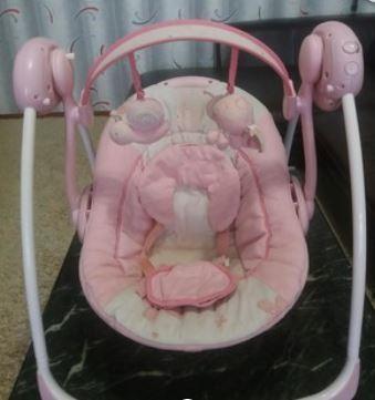 Помощник для мамы!!!Качеля шезлонг Bright Starts для новорожденного!!! фото №1