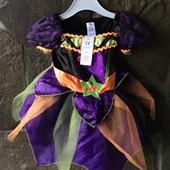 Карнавальный костюм ведьмочки George. Сток. Размер 52-56 на 0-3 мес.