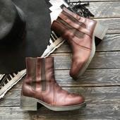 Оригинальные кожаные ботинки Wrangler рр 39