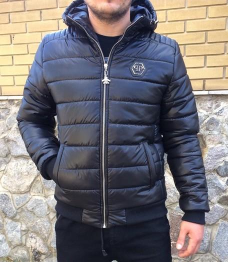 Куртка philipp plein, зима-осень фото №1