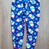 домашние или пижамные штаны флис 4-5 лет