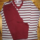 Пижама с начесом р. l Турция 100% хлопок