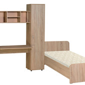 Мебель для детской комнаты Джерри (ДСП). Стенка в детскую +кровать