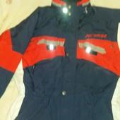 лыжная куртка с ветро и водозащитой 54 размер