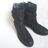 Кожаные оригинальные ботинки 40