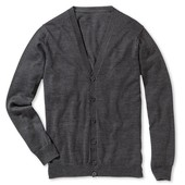 мужской шерстяной свитер-кардиган.Tchibo Германия