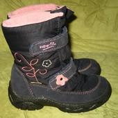 Зимние термо ботинки Superfit gore-tex 25 р-р стелька - 15.5 см, в прекрасном состоянии, легкие, удо