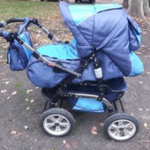 Универсальная коляска трансформер Adbor Vivaro для мальчика.
