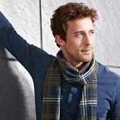 Стильный мужской шарф 160 см тсм Tchibo. Германия Чибо