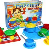 "Набор Посудки ""Маринка"" 19 предметов."