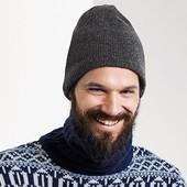 теплая шапка, мужская, tcm, tchibo