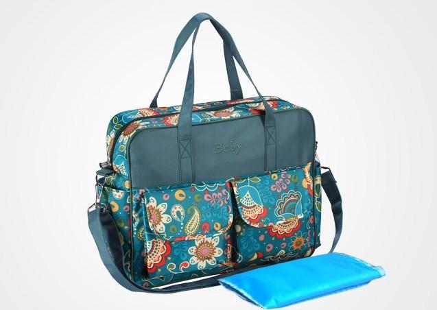 Большая сумка для мамы на коляску или в роддом фото №1