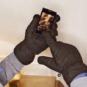 Мужские сенсорные зимние рукавицы.ТСМ.чибо.Германия.размер 10