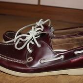 Стильные топсайдеры кожаные , топсайдери , туфли , туфлі tribort