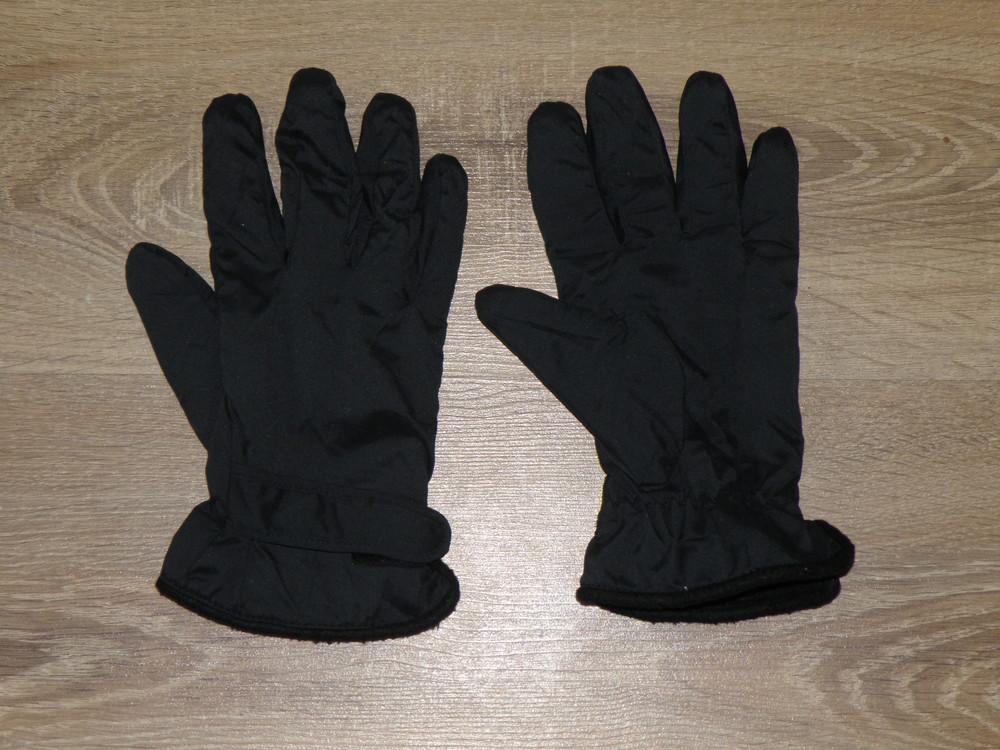 Перчатки на флисе фото №1