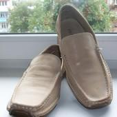Туфли-мокасины мужские натуральная кожа Prada р.43
