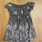 ніжна симпатична блузка туніка С-М