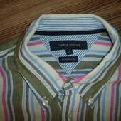 Рубашка Tommy Hilfiger, оригинал,размер XL в идеале, лен