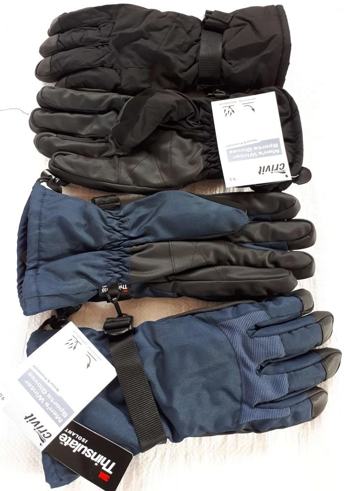 Мужские перчатки Thinsulate Crivit Германия фото №1