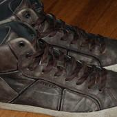 Кожаные утеплённые кроссовки Geox 43 р хорошее состояние