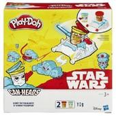 Набор play-doh star wars Luke Skywalker and Snowtrooper Can-heads