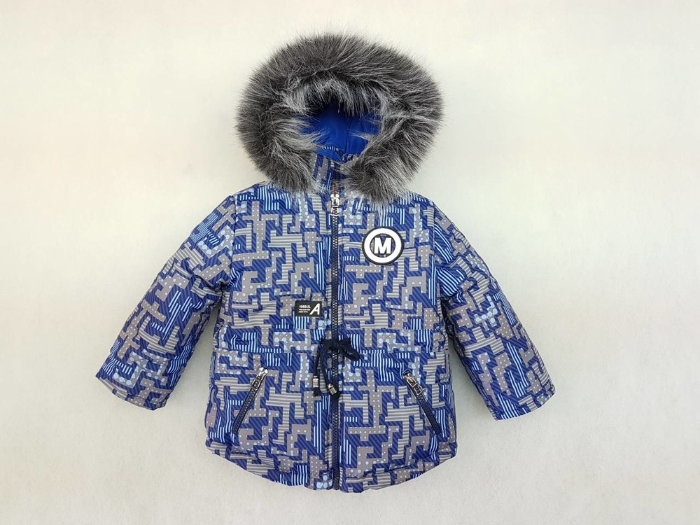 Зимние куртки для мальчиков 80-98 фото №1