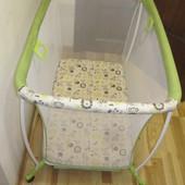 Манєж дитячий Geoby H311 - GDW джеобі салатовий манеж детский геоби салатовый.