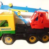 "Машина ""Кран ""Middle truck"", ТМ Wader 39226"