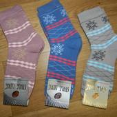 Женские махровые носки р.36-40