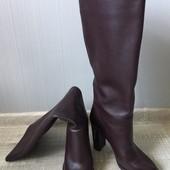 Продам женские кожаные сапоги-чулки Antonio Biaggi 50372, 38р, высокий каблук