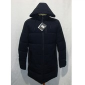 Мужская зимняя удлиненная куртка - пальто на холлофайбере Baieraofeng. Разные цвета.