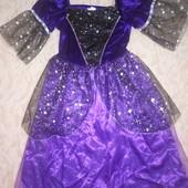 Карнавальное платье+ колпак Фея, Ночь