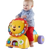 Fisher-Price Ходунки и машина- каталка лев 3 в 1