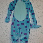 карнавальный костюм Джеймс Салливан (Корпорация монстров), на 3-4 года