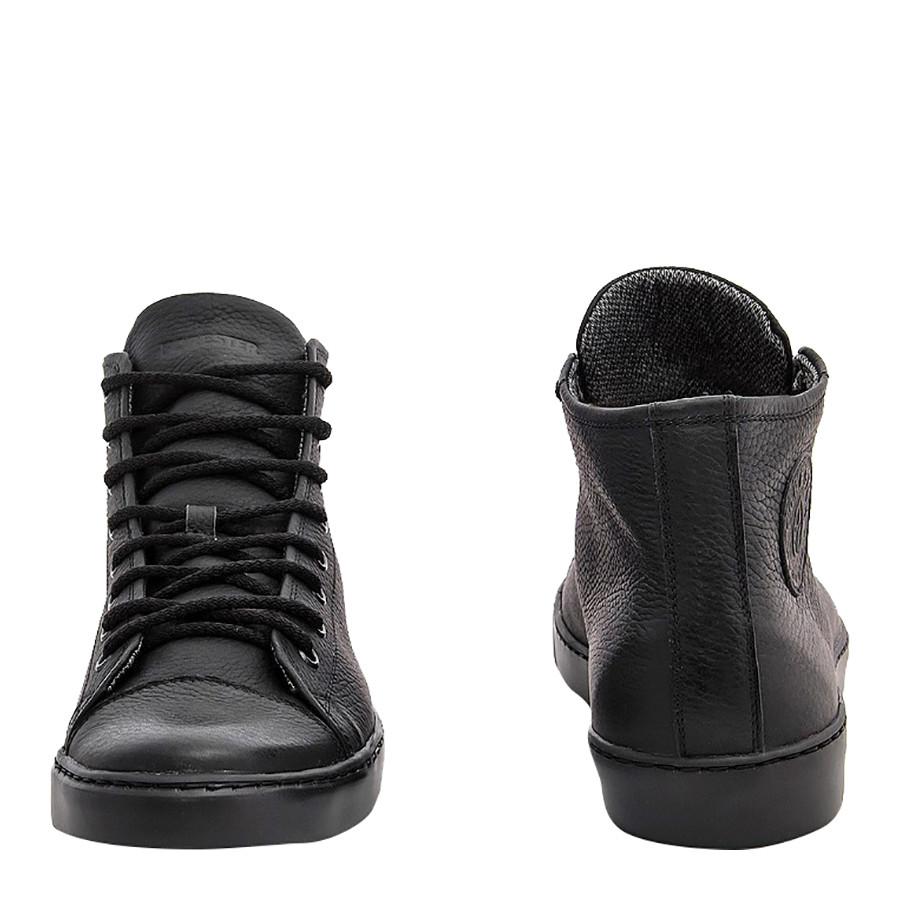 Кеды мужские кожаные ботинки конверсы 100 кожа фото №1